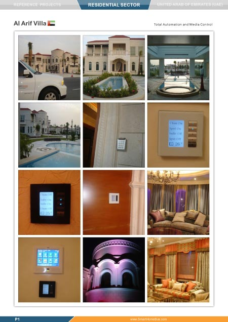 smart bus home automation residential projects. Black Bedroom Furniture Sets. Home Design Ideas