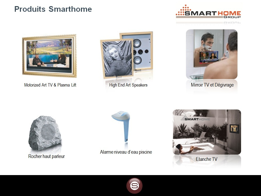 smart bus home automation technology french catalogues. Black Bedroom Furniture Sets. Home Design Ideas
