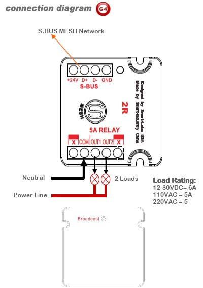 2r mini relay moudule 5a  g4
