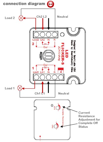 Smart-Bus LED Flicker Supressor (G4) - SB-Flicker-S-UN - GTIN (UPC-EAN): 0610696254870