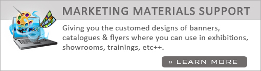 Marketing Materials Support