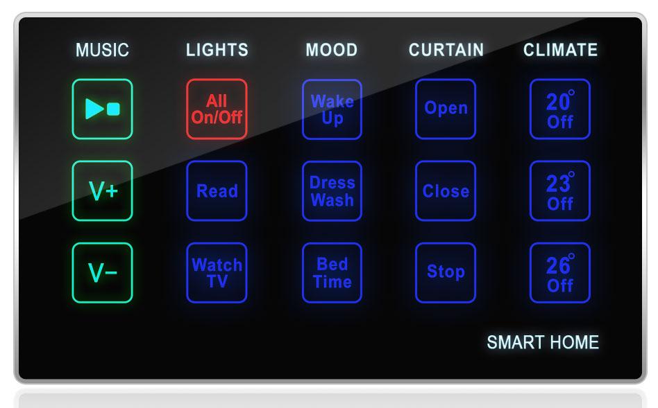 bedroom control bedside simple touch panel gtin upc ean 0610696254344. Black Bedroom Furniture Sets. Home Design Ideas