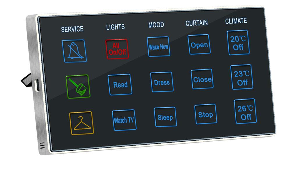 smart bus hotel bedside controller sb bedsd un. Black Bedroom Furniture Sets. Home Design Ideas