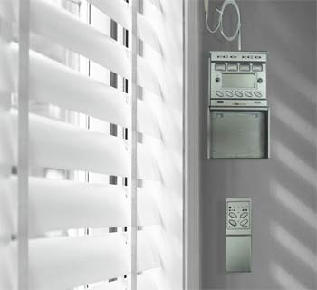 Motorized Horizontal Blinds, Integrateable - CSS-H1-WL -GTIN(UPC-EAN): 0610696254368